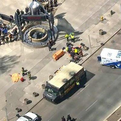 Al menos cuatro personas murieron tras el atropello masivo en Canadá.