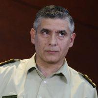 """Santiago, 26 de enero de 2018 El General inspector Gonzalo Blu realiza punto de prensa para referirse a la """"Operación Huracán"""" Javier Torres/Aton Chile"""