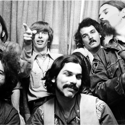 "The Grateful Dead, 1970 (clockwise): Bob Weir, Phil Lesh, Bill Kreutzmann, Ron ""Pigpen"" McKernan, Mickey Hart and Jerry Garcia during the Music File Photos - The 1970s - by Chris Walter at the Music File Photos 1970's in Various Cities, United Kingdom. (P"