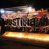 1 de Mayo del 2018/LOS ANDES En la sede de la junta de vecinos de el sector donde vivía Ambar, es velado su cuerpo y se espera que este jueves se realicen sus funerales. FOTO: GONZALO LOPEZ/AGENCIAUNO