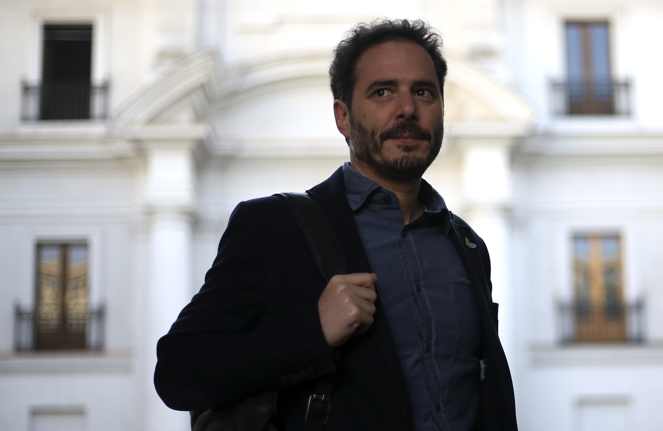Presidente de Evopoli, Hernán Larraín.