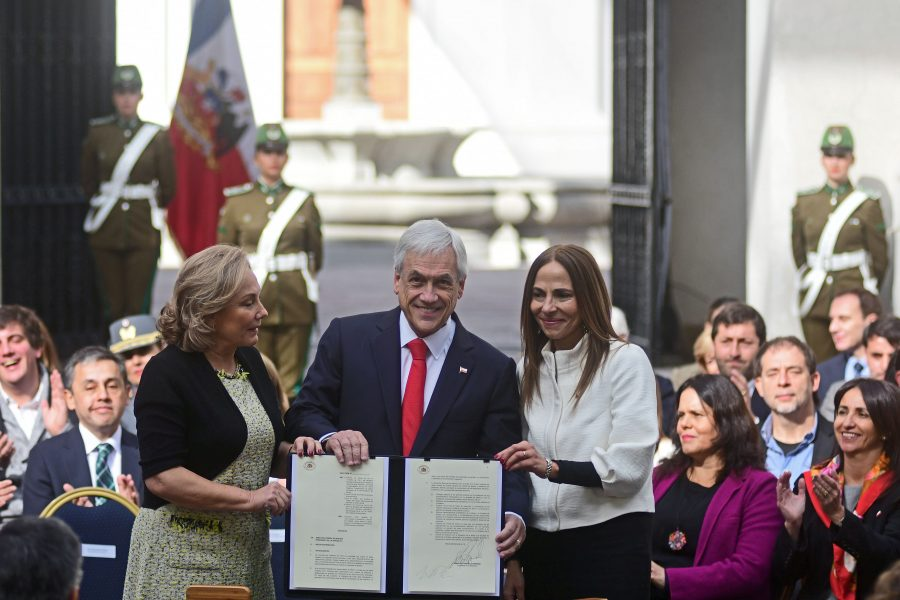 Presidente Sebastián Piñera Agenda de Equidad de Género