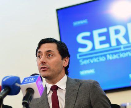 Director el Sernac. Justo del Villar