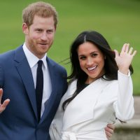 Meghan Markel y el príncipe Harry