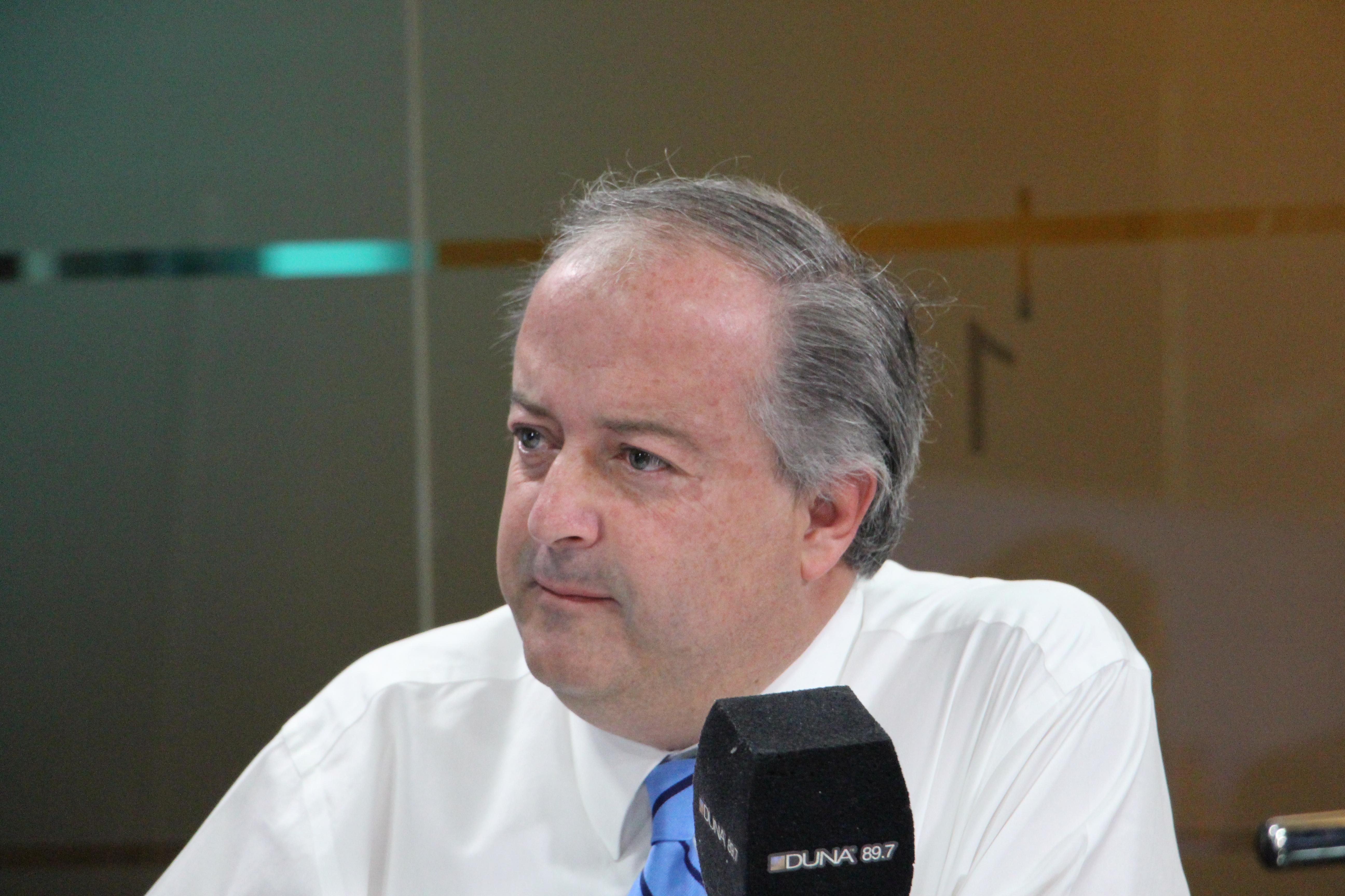 Ministro del Trabajo, Nicolás Monckeberg.