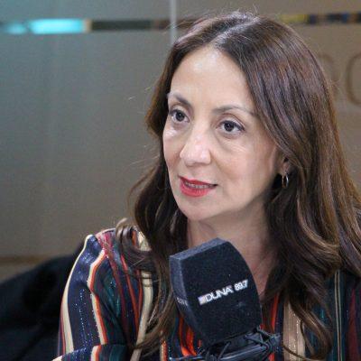 Vocera de gobierno. Cecilia Pérez