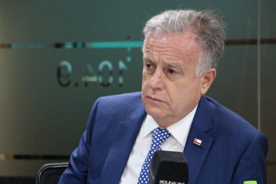 Ministro de Salud, Emilio Santelices, se refiere a la reforma a las Isapres.