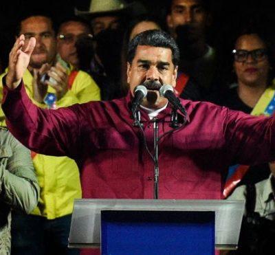 Nicolás Maduro tras su triunfo en las elecciones en Venezuela