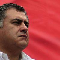El secretario general de la CUT, Nolberto Díaz, se refirió a la marcha del 1 de mayo.