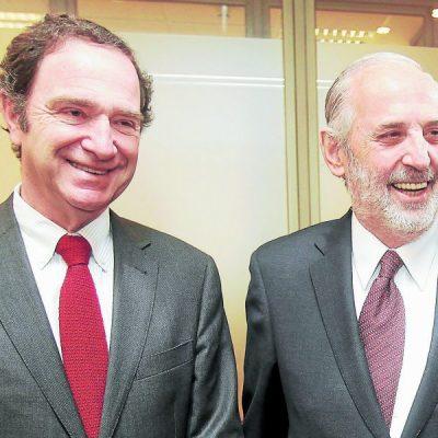Hernán Larraín y Jorge Abbott