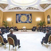 Desde Roma, Matilde Burgos, nos comentó lo que fue el primer encuentro del Papa con los obispo.