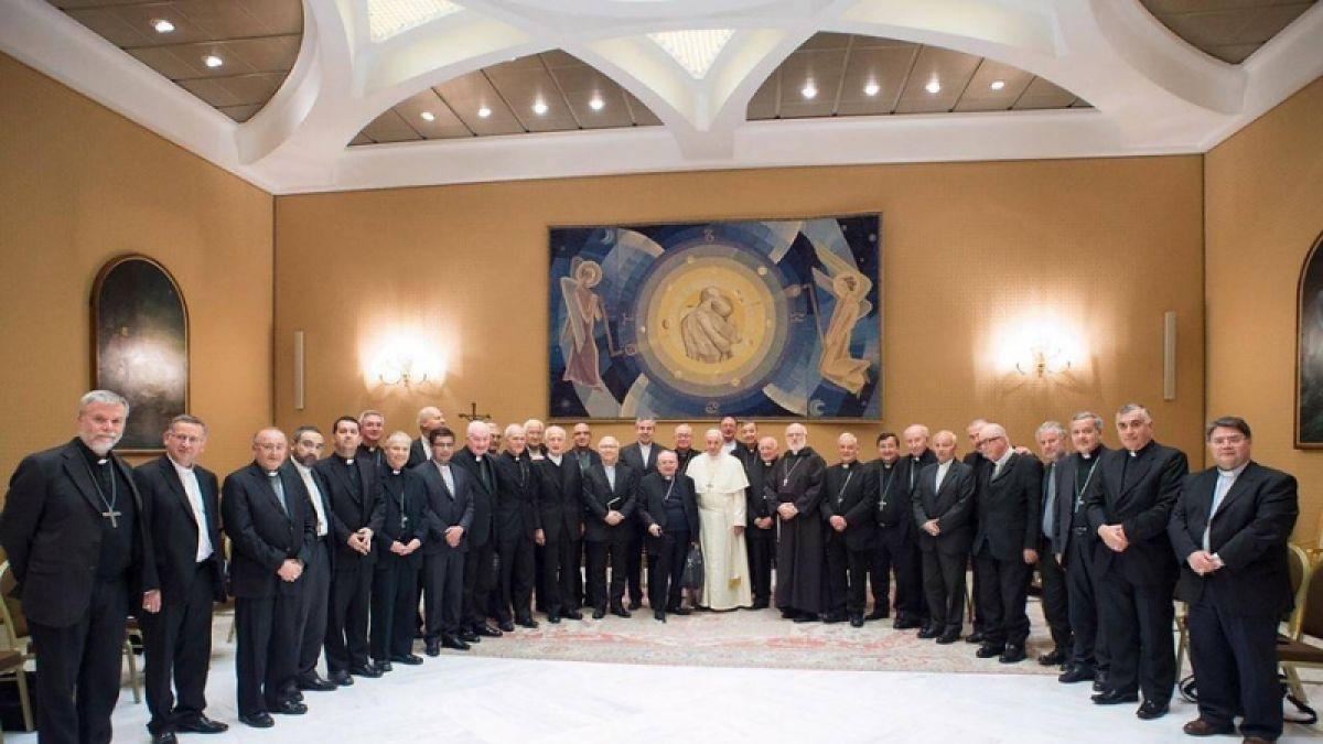 Obispos chilenos en Roma