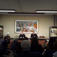 Fernando Ramos y Juan Ignacio González desde el Vaticano.