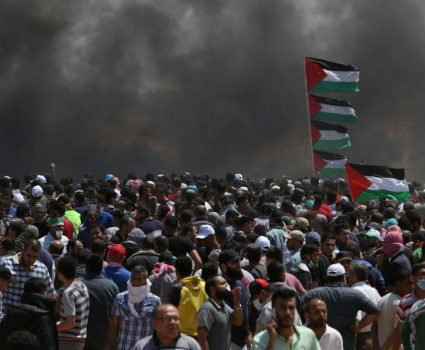 Bombardeos de la Franja de Gaza, los enfrentamientos de Israel y Palestinos