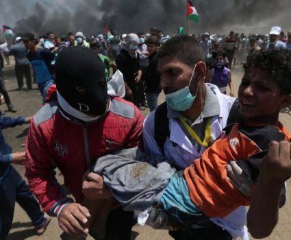 Protestas en Palestina por traslado de embajada norteamericana a Tel Aviv