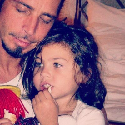 Chris Cornell y su hija Toni