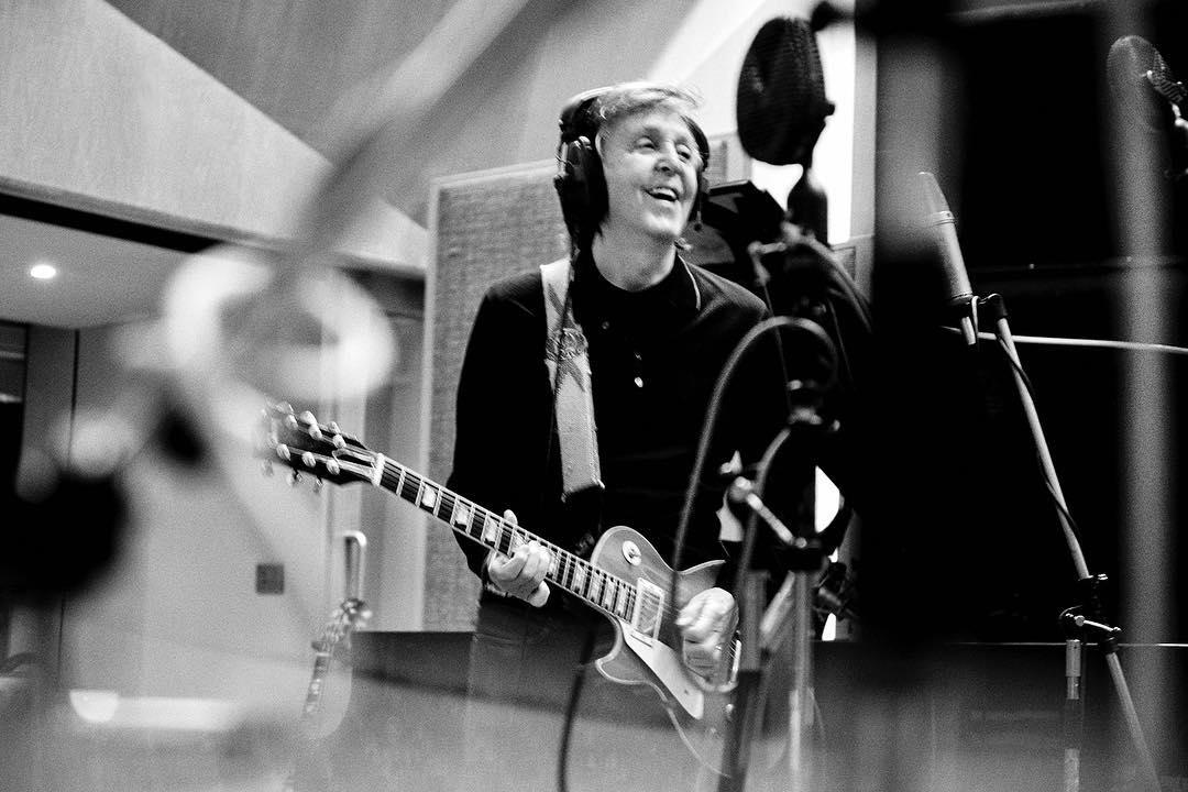 Paul McCartney. Foto de su Intagram