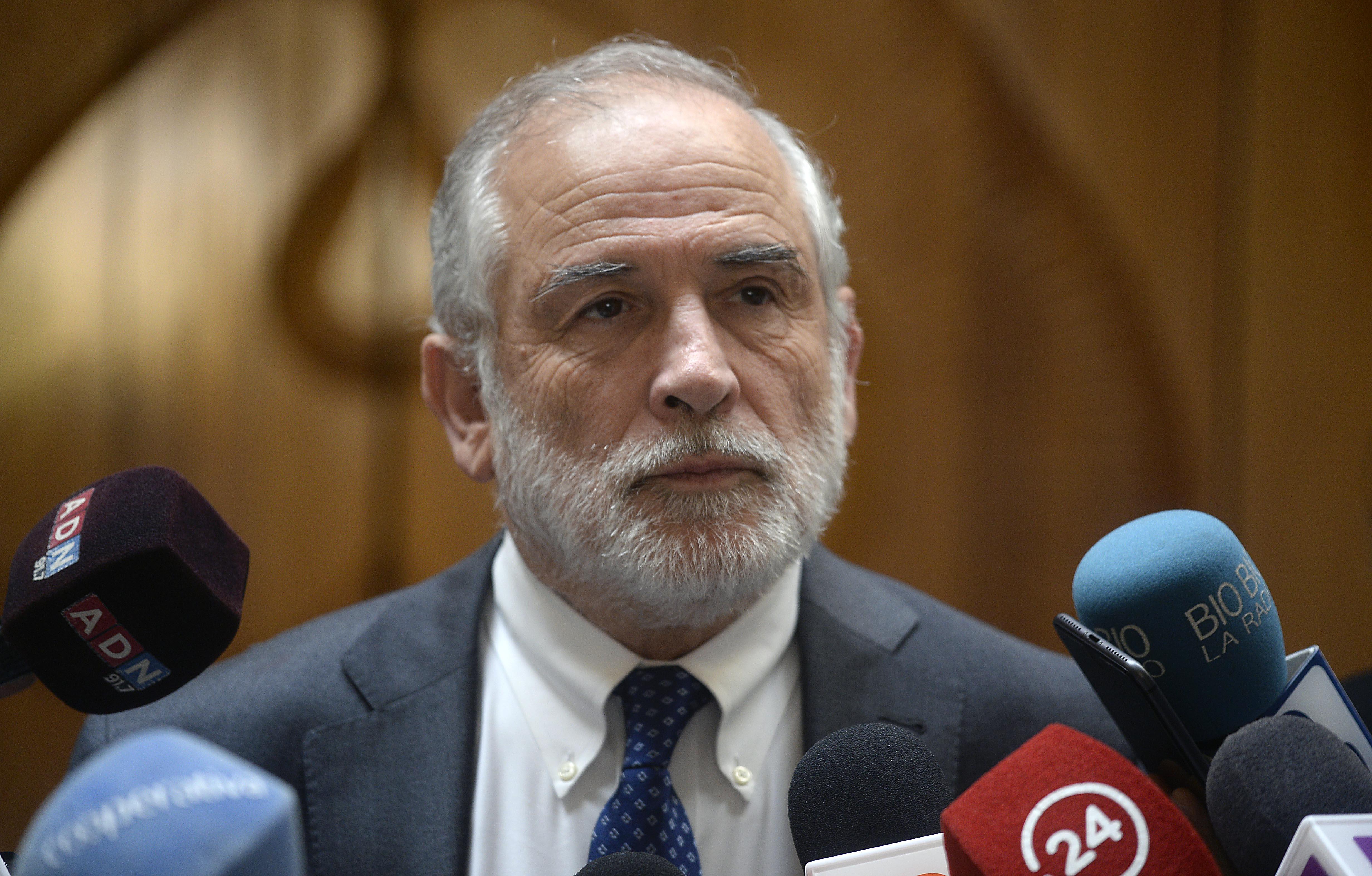 El presidente del Senado, Carlos Montes, analizó la Cuenta Pública del presidente Sebastián Piñera
