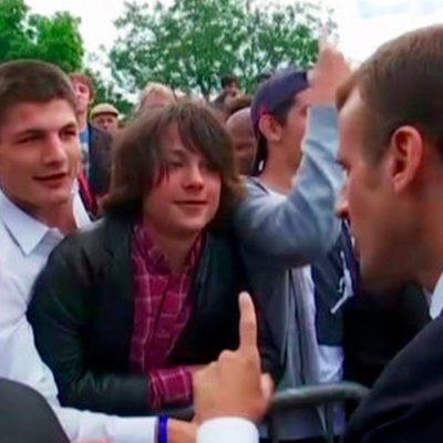 Macron video