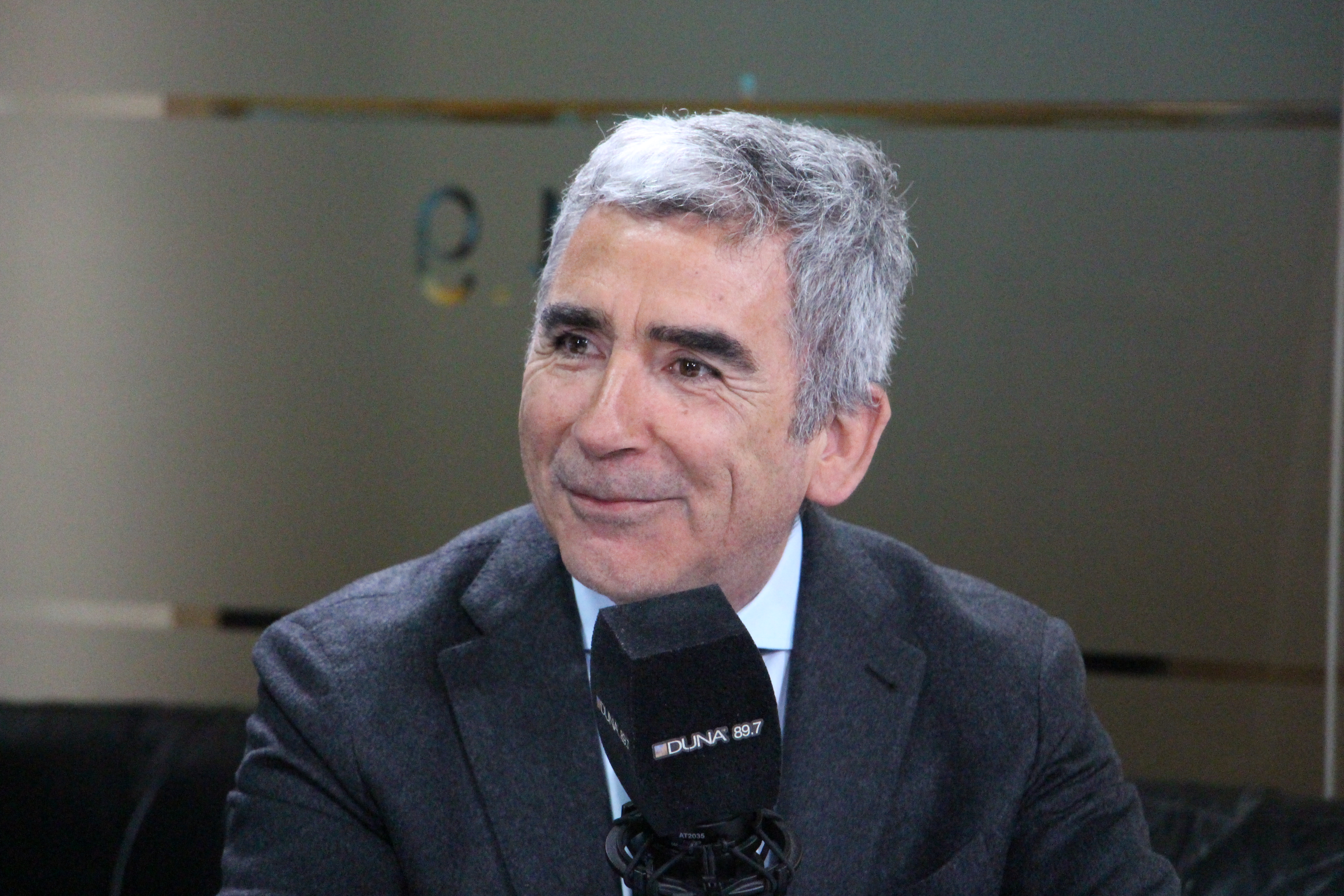 Rector de la Universidad Diego Portales, Carlos Peña.