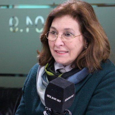 Historiadora y académica de la Universidad de Chile, Sofía Correa.