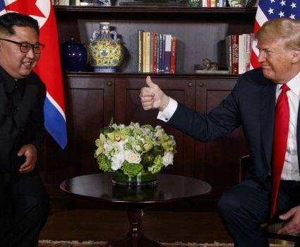 El analista Robert Funk se refiere a la cumbre entre Kim y Trump