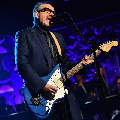 NEW YORK, NY - JUNE 09: Elvis Costello performs onstage during the Songwriters Hall Of Fame 47th Annual Induction And Awards at Marriott Marquis Hotel on June 9, 2016 in New York City. (Photo by Larry Busacca/Getty Images for Songwriters Hall Of Fame)