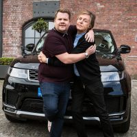 James Corden y Paul McCartney