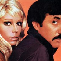 UNSPECIFIED - JANUARY 01: (AUSTRALIA OUT) Photo of Nancy SINATRA and Lee HAZLEWOOD; with Nancy Sinatra (Photo by GAB Archive/Redferns)