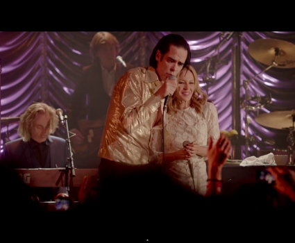 Nick Cave y Kylie Minogue