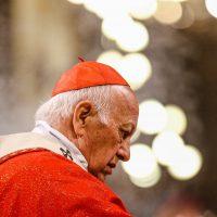 18 de Mayo de 2018/SANTIAGO El Cardenal Ricardo Ezzati, preside la misa de inicio del X Sínodo de Santiago en la catedral metropolitana. FOTO: HANS SCOTT / AGENCIAUNO