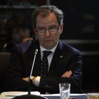 03 Julio de 2018 / VALPARAISO El ministro Gerardo Varela en la comisión de educación del senado. FOTO :PABLO OVALLE ISASMENDI /AGENCIAUNO