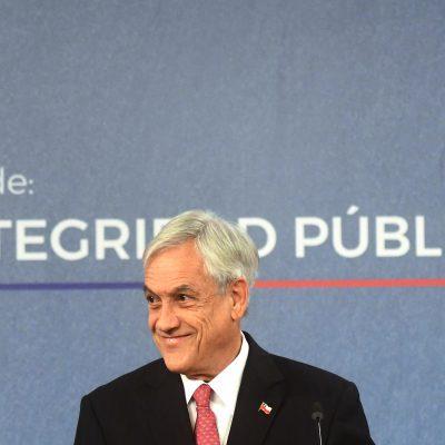 5 de julio de 2018/SANTIAGO El Presidente Sebastián Piñera, junto con ministros, firma Proyecto de Ley de Integridad Pública. FOTO: SEBASTIAN BELTRÁN GAETE/AGENCIAUNO