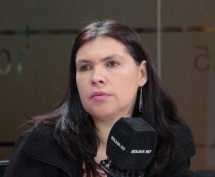 Presidenta de la CUT, Bárbara Figueroa