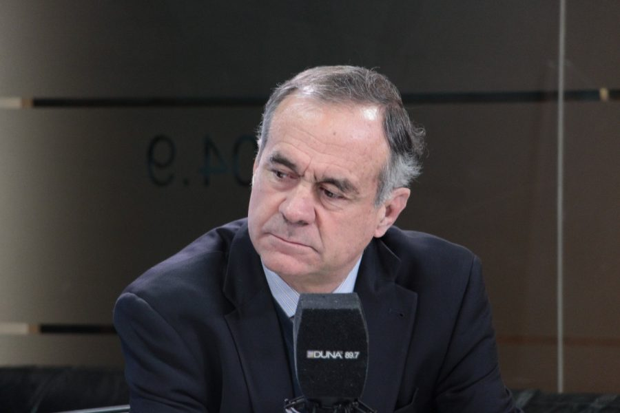 Ex presidente de la DC, Ignacio Walker