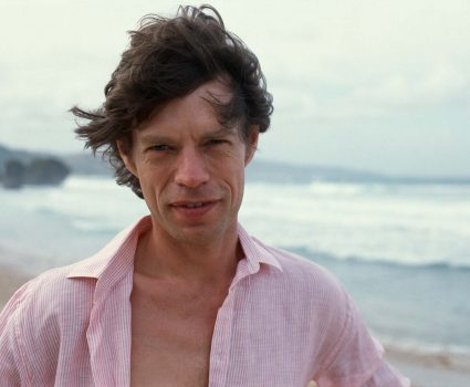 Mick Jagger on the beach at Barbados, just prior to his 40th birthday. (Photo by © Wally McNamee/CORBIS/Corbis via Getty Images)