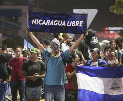 Protestas en Nicaragua contra el régimen de Daniel Ortega