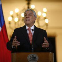 Presidente Sebastián Piñera reforma tributaria
