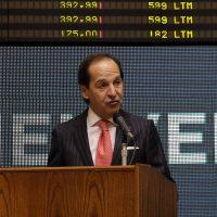 Juan Andrés Camus, presidente de la Bolsa de Santiago
