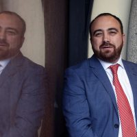 Fuad Chahin, presidente de la DC
