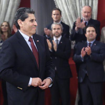09 DE AGOSTO DE 2018/SANTIAGO El Presidente de la Republica,realiza su primer cambio de Gabinete en el Palacio de la Moneda. En la imagen el nuevo Ministro de Cultura Mauricio Rojas. FOTO:CRISTOBAL ESCOBAR /AGENCIAUNO