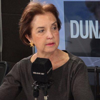 Gloria Hutt, ministra de Transportes.