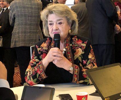 Lucía Santa Cruz, historiadora