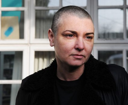 IRELAND - 3rd FEBRUARY: Irish singer and songwriter Sinead O'Connor posed at her home in County Wicklow, Republic Of Ireland on 3rd February 2012. (Photo by David Corio/Redferns)