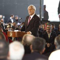 24 de Septiembre del 2018/TEMUCO El Presidente Sebastián Piñera junto al ministro del Interior y Seguridad Pública, , el ministro de Desarrollo Social y el Intendente de la Araucaníal, anuncia el Acuerdo Nacional por el Desarrollo y la Paz en La Araucanía. FOTO: RODRIGO SAENZ/AGENCIAUNO