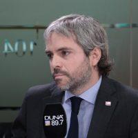 Gonzalo Blumel, ministro de la Segpre