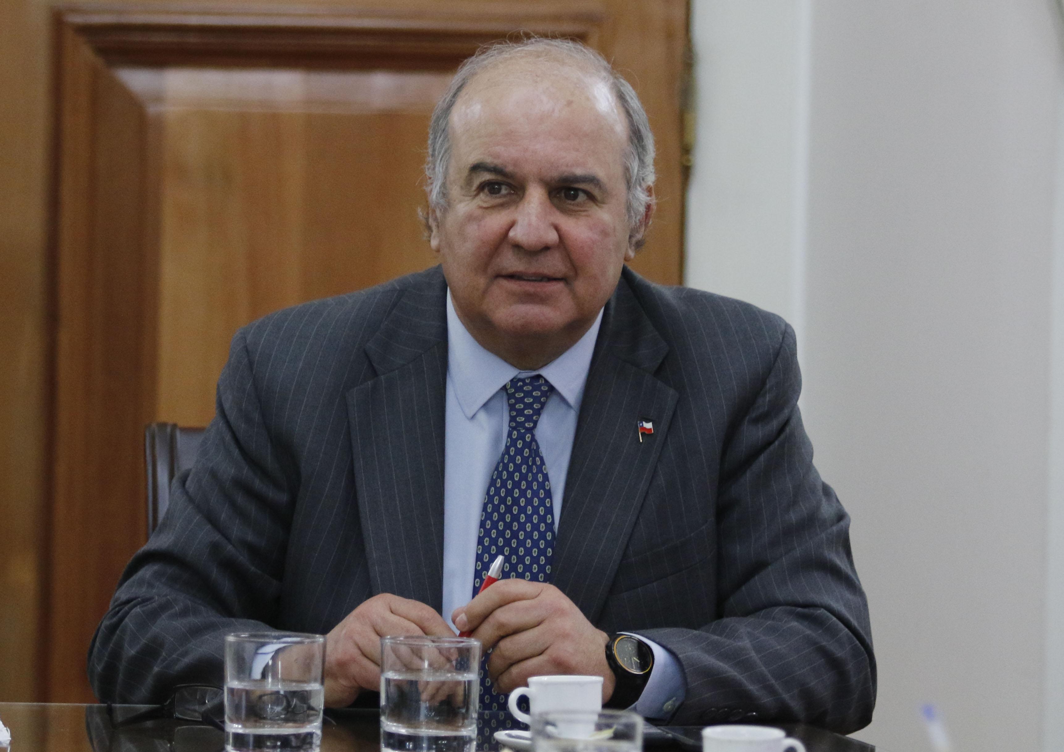 Luis Mayol, intendente de La Araucanía