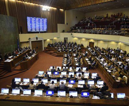 27 de NOVIEMBRE de 2018 / VALPARAISO Hemiciclo , durante Proyecto de ley de Presupuestos del sector público correspondiente al año 2019. FOTO :PABLO OVALLE ISASMENDI / AGENCIAUNO
