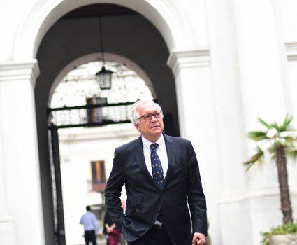 16 de abril de 2018/SANTIAGO Jorge Burgos, se retira tras el fin dell comite de seguridad. FOTO: SEBASTIAN BELTRÁN GAETE/AGENCIAUNO