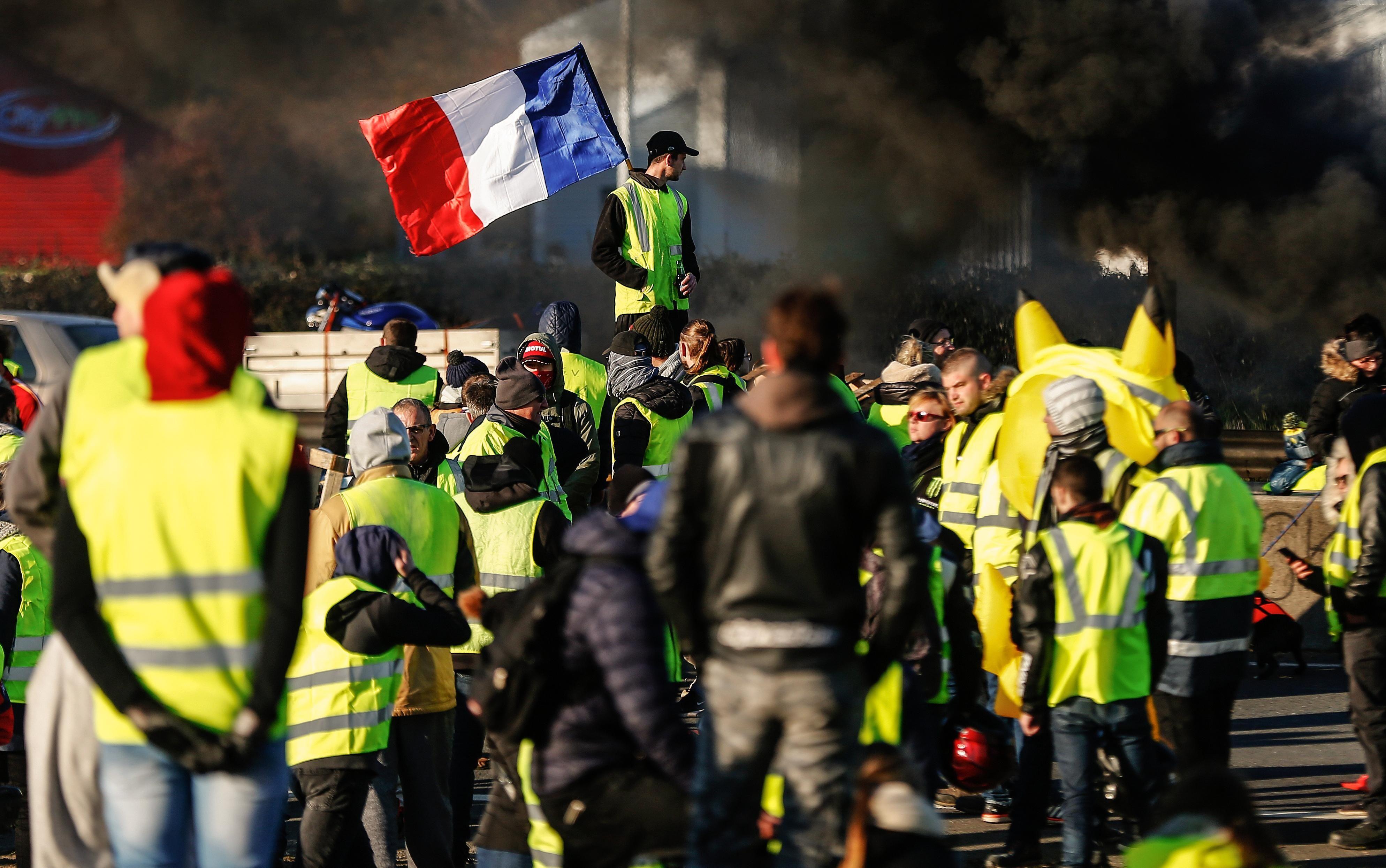 Chalecos amarillos francia
